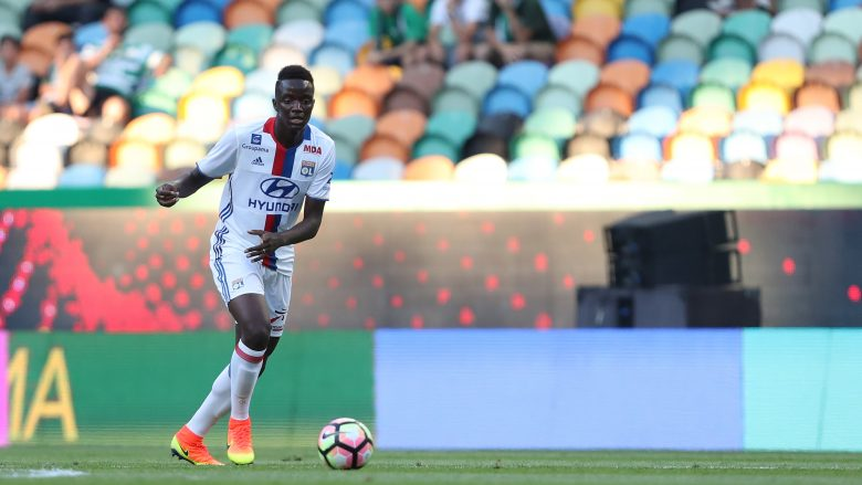 LISBON, PORTUGAL - JULY 23: Lyon's defender Mouctar Diakhaby during the Friendly match between Sporting CP and Lyon at Estadio Jose Alvalade on July 23, 2016 in Lisbon, Portugal.  (Photo by Carlos Rodrigues/Getty Images)