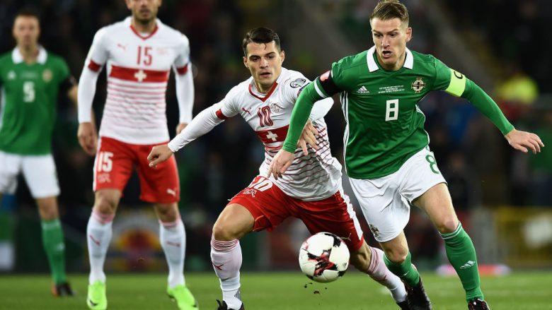 Formacionet zyrtare: Zvicra – Irlanda e Veriut, helvetikët kërkojnë kualifikimin në botëror me tre shqiptarë titullar