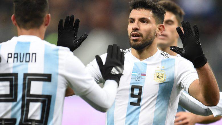 Aguero humb ndjenjat, dërgohet në spital – Argjentina turpërohet edhe nga Nigeria (Video)