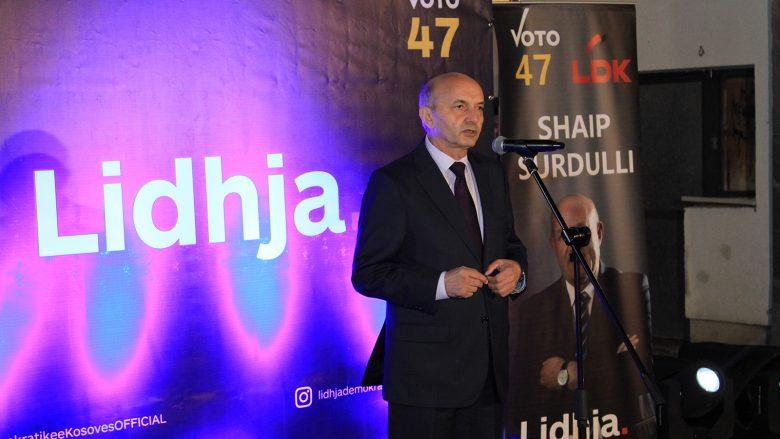 Mustafa: Fitorjae Surdullit në Kamenicë është e padiskutueshme