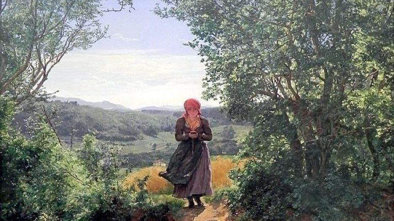 """Piktura e para 160 viteve, """"me adoleshenten që shkruan në iPhone"""" (Foto)"""