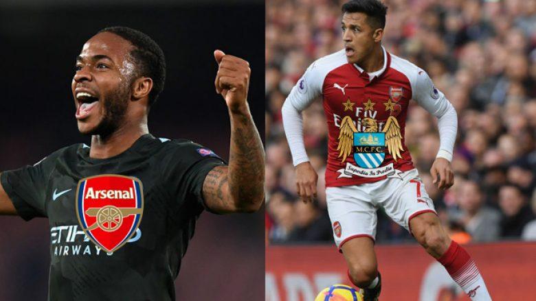 Arsenali do ta kërkojë Sterlingun për ta lejuar shkuarjen e Sanchezit te City