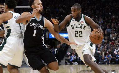 Spurs pëson humbje, Bucks rikthehet te fitoret në NBA (Video)