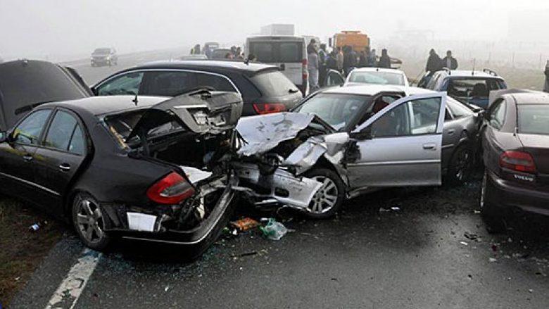 Në 24 orët e fundit, në aksidente trafiku janë lënduar 25 persona
