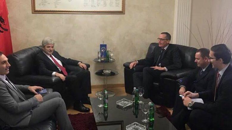 Ahmeti-Garrett: Maqedonia të punojë për të zhbllokuar proceset integruese