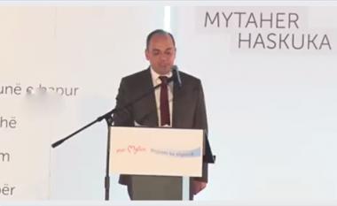 Haskuka fton qytetarët e Prizrenit të bashkohen rreth ndryshimit