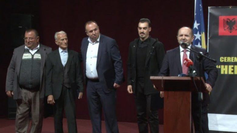 """Berisha, Përlleshi, Bashota dhe Rama dekorohen me urdhrin """"Hero i Kosovës"""""""
