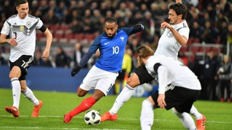 Gjermania dhe Franca dhurojnë spektakël me katër gola, por ndeshja mbyllet pa fitues (Video)