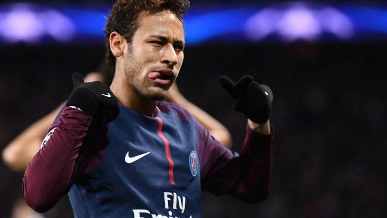 Neymar paguhet 670 mijë euro në javë apo 2.6 milionë euro në muaj