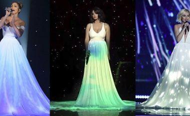 """Inspirim apo rastësi? Performanca e veçantë e Çiljetës në """"Kënga Magjike"""", diçka e parë edhe më herët për publikun (Foto/Video)"""