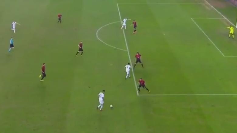Shqipëria po i jep leksion Turqisë, Sadiku shënon edhe golin e dytë (Video)