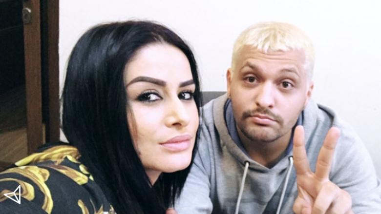 Fansat dyshojnë se bashkëpunimi i ri i këngëtares Gashi, mund të jetë me këngëtarin e njohur nga Shqipëria, Brunon. Burimi i fotos: InstaStory