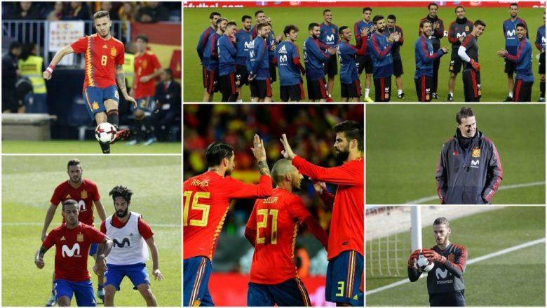 Derisa kombëtaret e tjera kanë vetëm një formacion, Spanja është në 'hall' pasi ka tri të tilla (Foto)