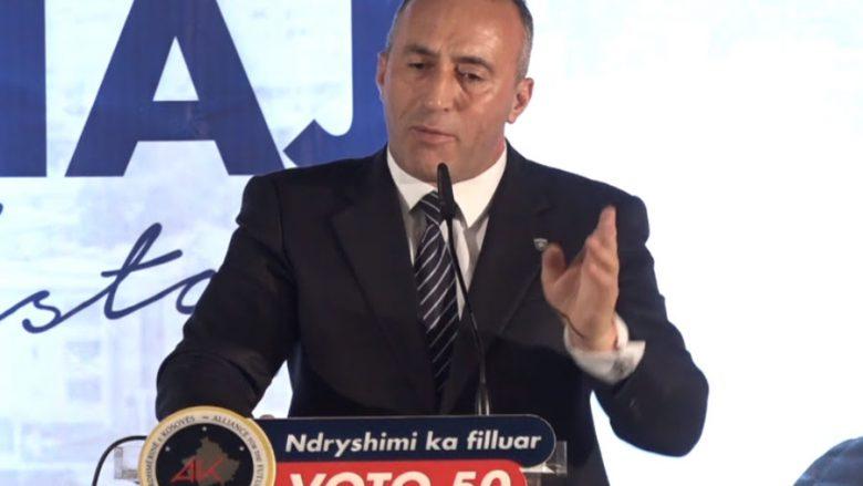 Haradinaj premton zhvillim ekonomik për qytetin e Istogut