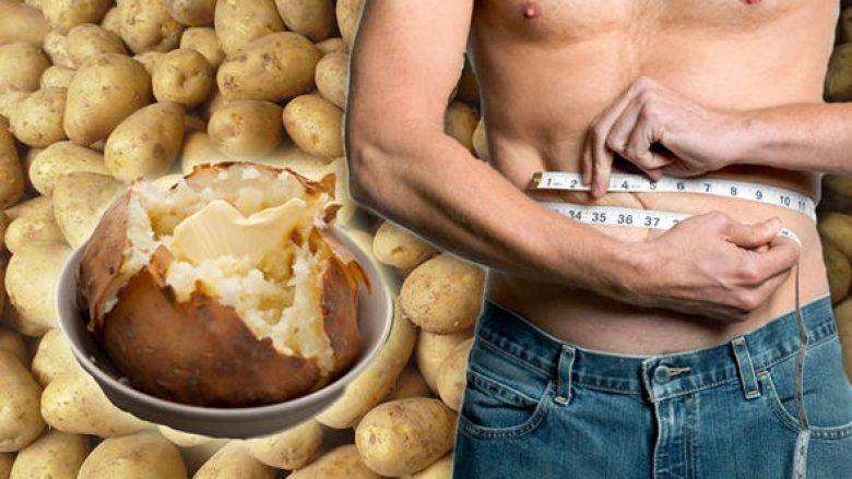 Dieta e mbushur me patate që ndihmon në humbjen e peshës