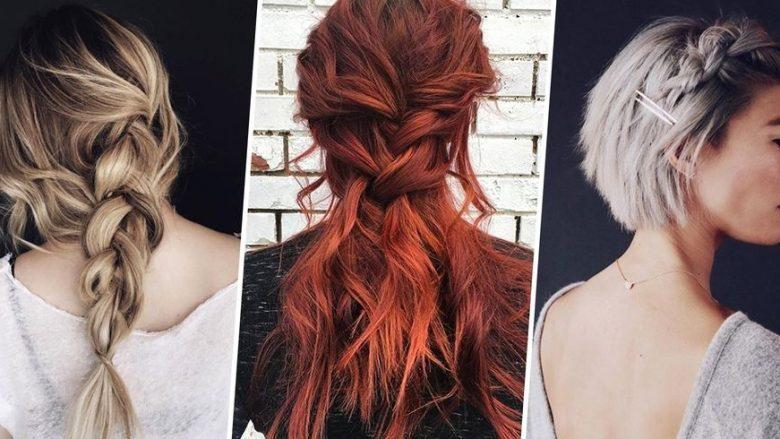 Gërsheta të bukura dhe të lehta për të gjitha llojet e flokëve (Foto)