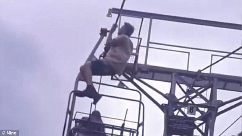 Rrëzohet nga 10 metra lartësi, derisa po bënte ushtrime për t'ju bërë përshtypje shokëve (Video, +16)