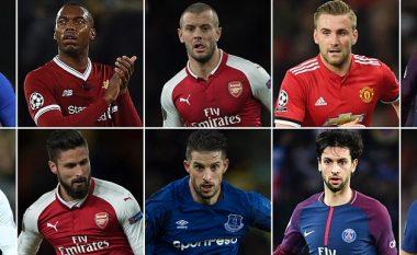 Dhjetë futbollistët që duhet të transferohet diku tjetër gjatë janarit për të rifituar një vend për Kampionatin Botëror (Foto)