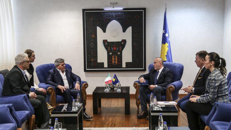 Haradinaj mirëpret gatishmërinë e italianëve për investime në Kosovë