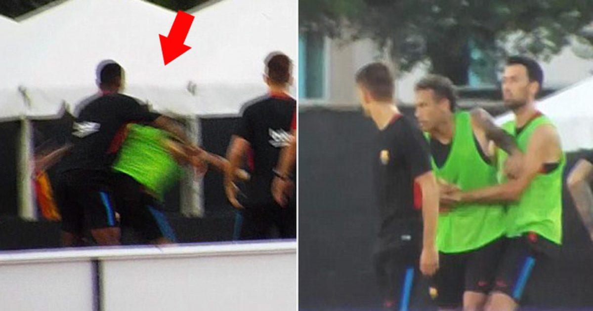 Më në fund Semedo shpjegon incidentin me Neymarin