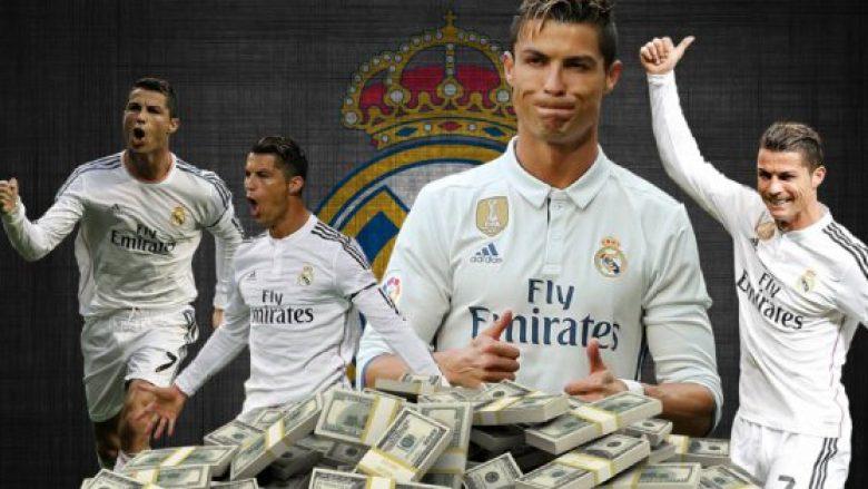 Një mal me para: Të gjitha milionat që CR7 ia ka dhënë Realit me golat e tij
