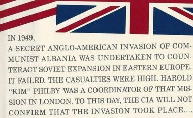 'Operation Valuable Fiend' ose Tradhtia e Madhe: Dështimi i planit anglo-amerikan, për ta rrëzuar Enver Hoxhën