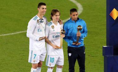Modric më i miri, Ronaldo e merr Topin e Argjendtë