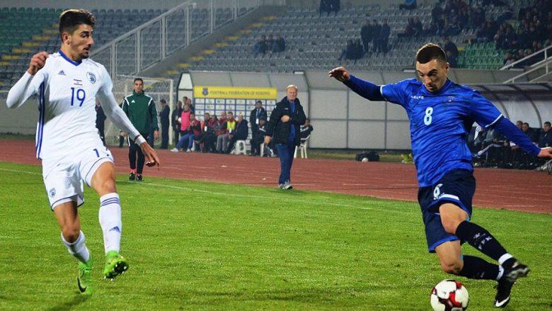Hasani: I lumtur me golin dhe fitoren e arritur