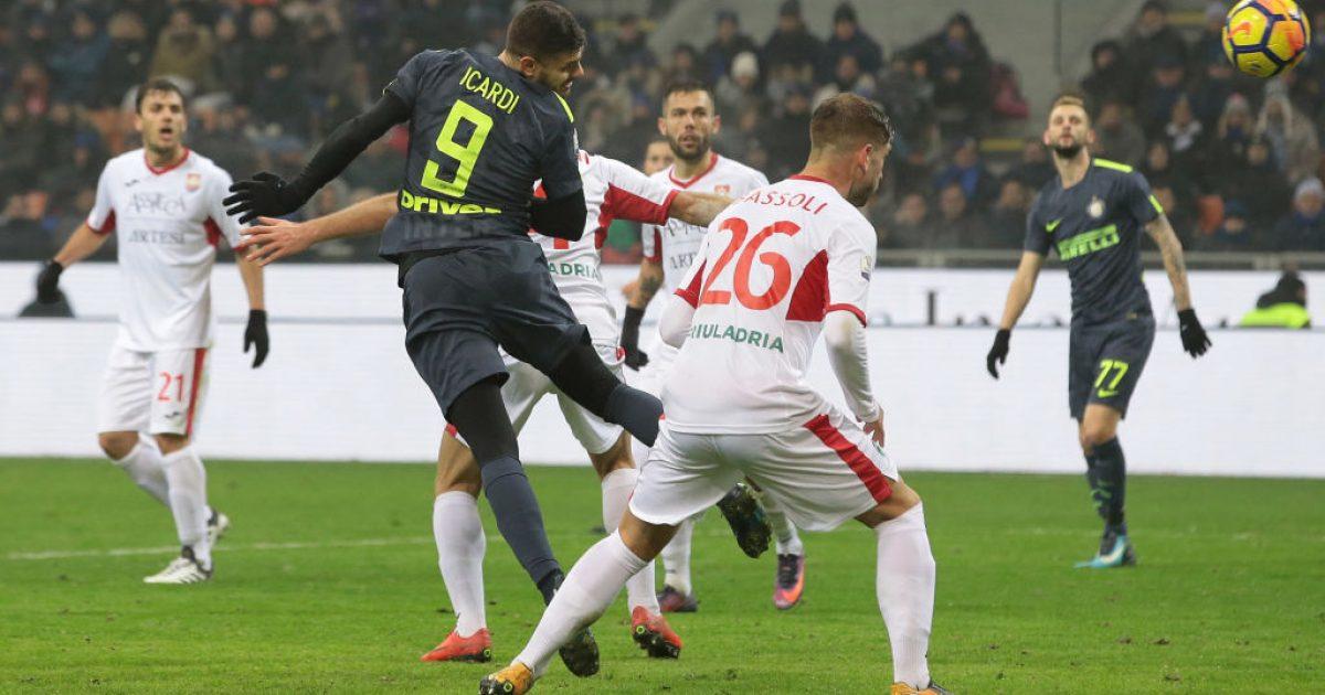 Interi sheh tmerrin në Kupë  vetëm pas penalltive eliminon skuadrën e kategorisë së tretë italiane  Pordenonen