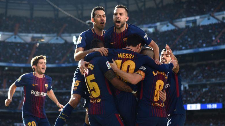 Katalunasit pushtojnë Madridin, Barcelona vazhdon si e pamposhtur në La Liga