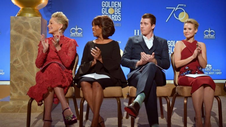 attends the 75th Annual Golden Globe Nominations Announcement on December 11, 2017 in Los Angeles, California.