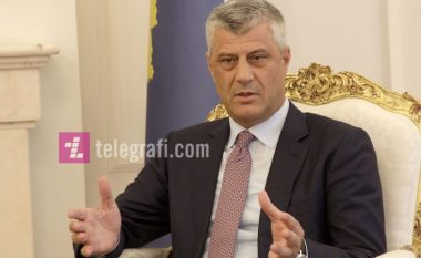 Thaçi dënon gjuhën e përdorur ndaj Delawie