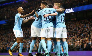 Man City shkatërron Tottenhamin, largohet 14 pikë nga vendi i dytë (Video)