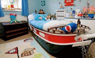Si në përralla: Disa ide për rregullimin e dhomës për vogëlushët tuaj!