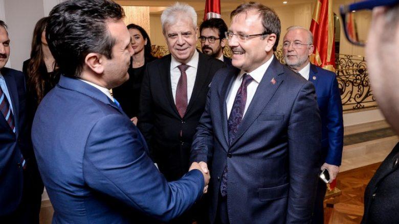 Zaev-Çavushoglu: Maqedonia meriton të jetë pjesë e NATO-s