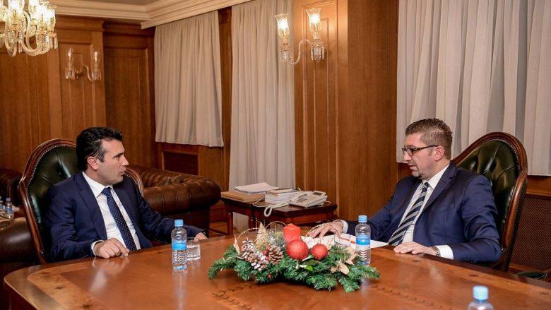 Mickovski pas takimit me Zaev, refuzoi marrëveshjen e kapitullimit