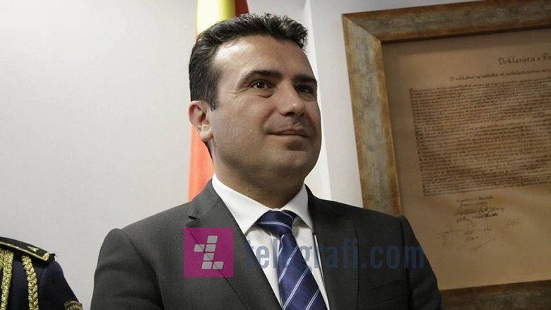 Zaev: Tre nga shtatë çështjet e negociatave, janë mënjanuar