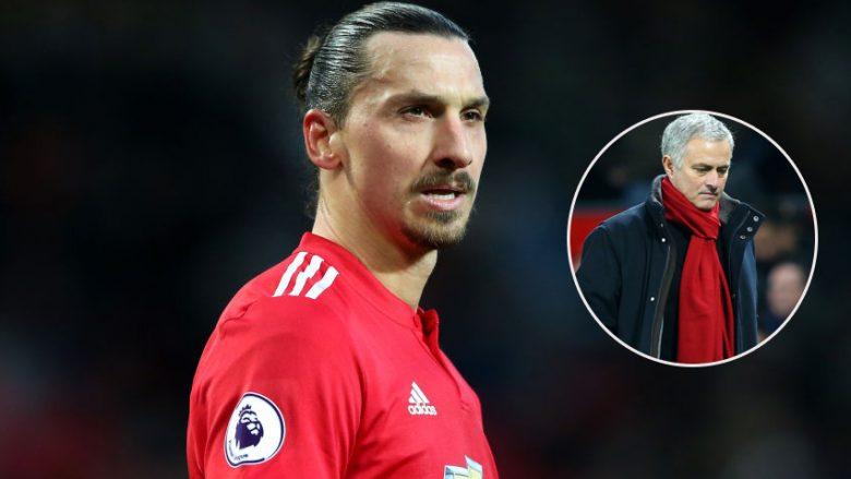 Mourinho dëshiron një rikthim sensacional të Ibrahimovicit te Unitedi