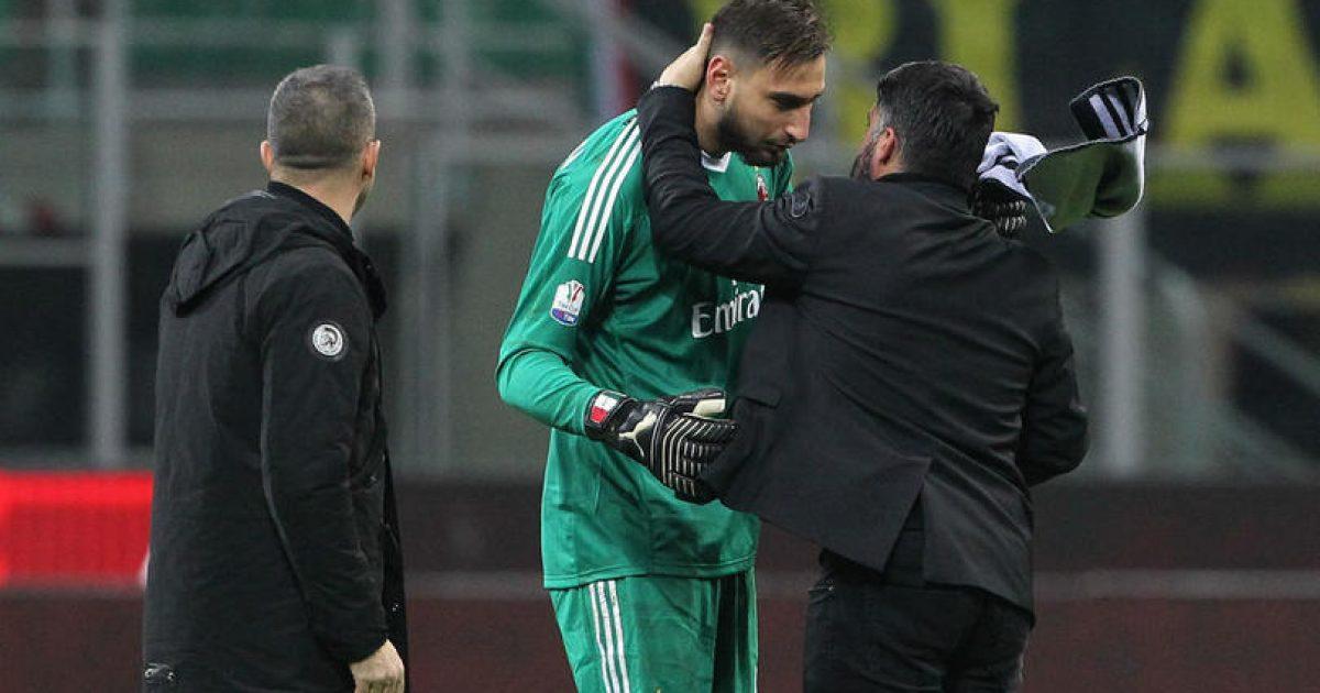 Gattuso  Donnarumma u prek nga tifozët