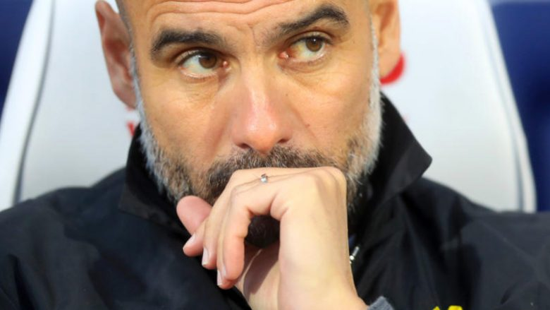 File photo dated 26-11-2017 of Manchester City manager Pep Guardiola.