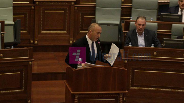 Haradinaj: Bulliqi dhe anëtarët e tjerë të Komisionit nuk janë palaço, tregoni respekt