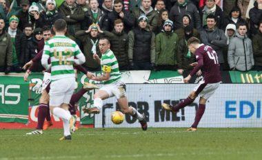 Celtic mposhtën më në fund në Skoci, Heartsi shkatërron rekordin e tyre historik