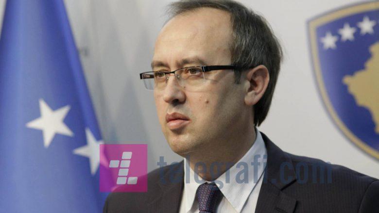 Hoti: Kemi pritur nga Haradinaj marrëveshje të re me Malin e Zi për Demarkacionin
