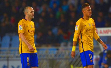 Iniesta: Neymar do të më mërziste nëse transferohet te Reali