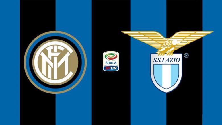 Inter – Lazio, formacionet zyrtare në derbin e javës në Serie A
