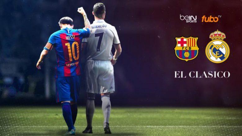 """""""El Clasico"""" më e shtrenjtë, në fushë 1.5 miliard euro"""