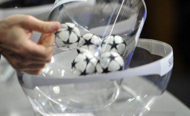 Tashmë dihen 16 skuadrat e kualifikuara, kush me kë mund të takohet në fazën e eliminimeve të Ligës së Kampionëve