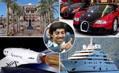 Njihuni me sheik Mansourin, pronarin e katër klubeve të futbollit, jahtit super luksoz, veturave të shtrenjta, vilave dhe investimeve me miliarda (Foto)