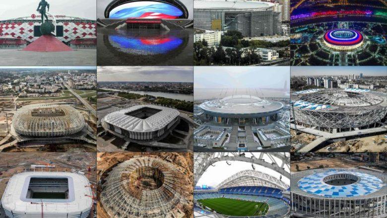 'Rusia 2018' zhvillohet në 11 qytete, 12 stadiume – Pamjet dhe kapacitet e stadiumeve ku do të zhvillohet Kampionati Botëror (Foto)
