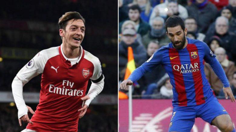 Barça ofron Turanin si pjesë e marrëveshjes për blerjen e Ozilit